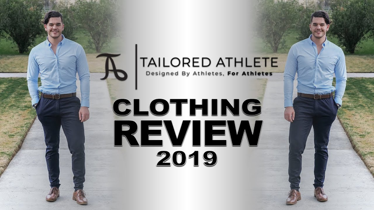 2fe1b5de MENS CLOTHING TRY ON & REVIEW [2019 TAILORED ATHLETE HONEST REVIEW ...