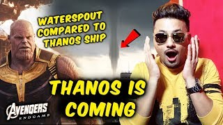 Avengers Endgame Fever | Huge Waterspout In Singapore Compared To Thanos Ship