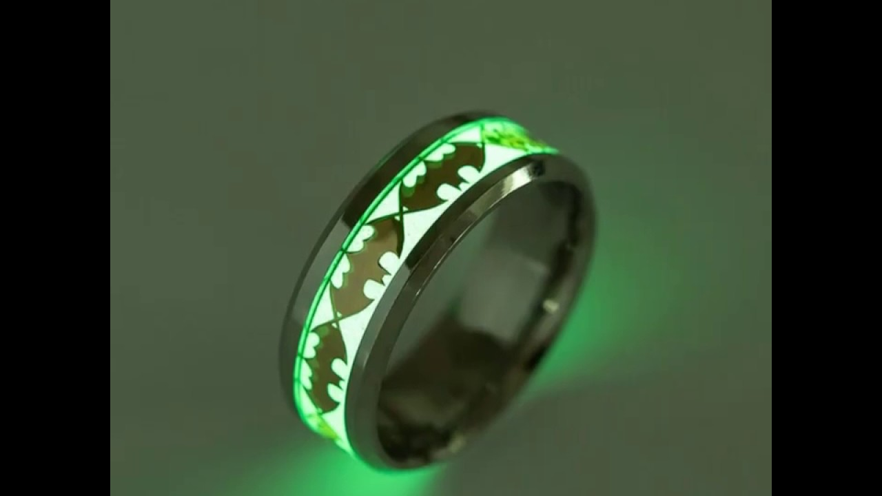 ring products cobalt lume glow mini rings runerefinery