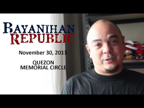 Carlos Celdran invites you to Bayanihan Republic