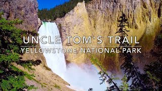 Uncle Tom's Trail Hike - Yellowstone National Park