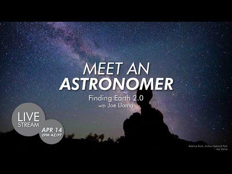 Meet an Astronomer | Finding Earth 2.0 with Dr. Joe Llama