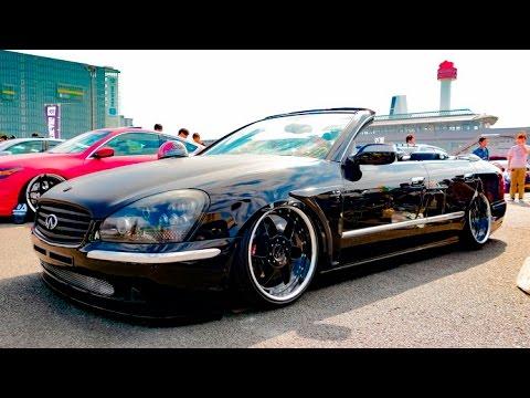 INFINITI Q45 F50 VIPCAR custom インフィニティQ45カスタム・オープンカー - スタンスネーション東京