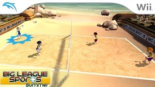 Big League Sports: Summer | Dolphin Emulator 5.0-8783 [1080p HD] | Nintendo Wii
