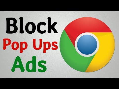 How To Block Pop Up Ads In Chrome |  Stop Popups Window In Google Chrome 2020