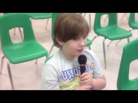"Non Verbal Autistic Child sings ""A Whole New World"""