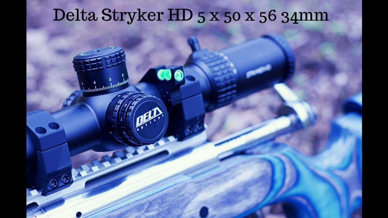 Delta stryker hd mm scope review pt youtube