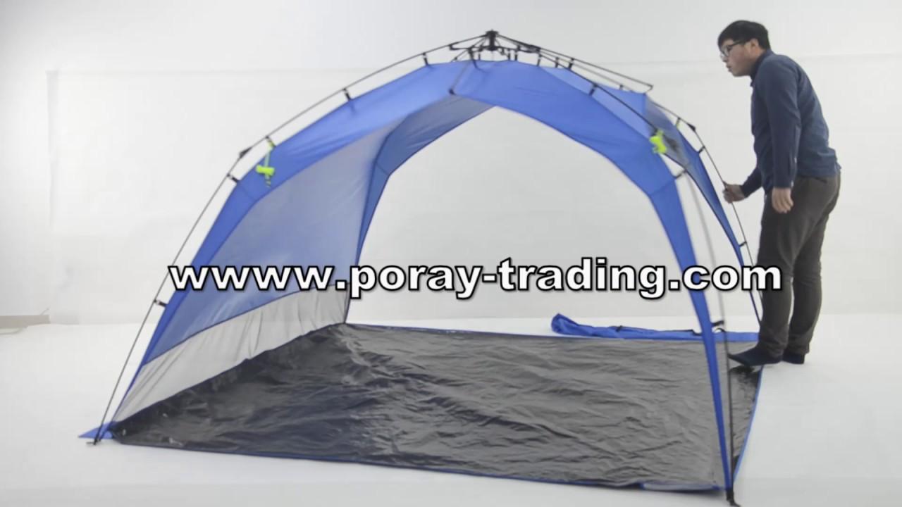 Lightspeed Outdoors Quick Canopy Instant Pop Up Shade Tent & Lightspeed Outdoors Quick Canopy Instant Pop Up Shade Tent - YouTube