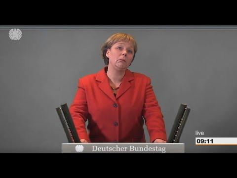 Zur Bundestagswahl 2017: Angela Merkels Antrittsrede - im Original! Unverfälscht!