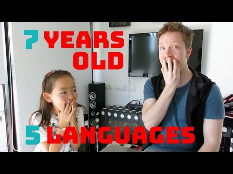 7 year old polyglot speaks 5 languages