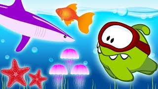 Learn Colors and Numbers with Colorful Fishes | Educational Cartoons for Children by Om Nom