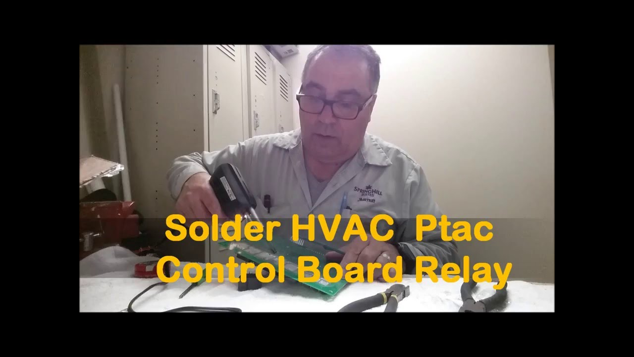 Amana Ptac Solder Control Board Youtube Com Pth Circuit Used In