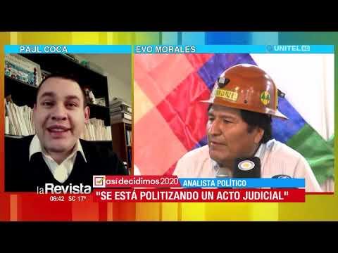 VIDEO: SI MORALES ES HABILITADO, OTROS POLÍTICOS TAMBIÉN PODRÍAN POSTULARSE SIN VIVIR EN BOLIVIA