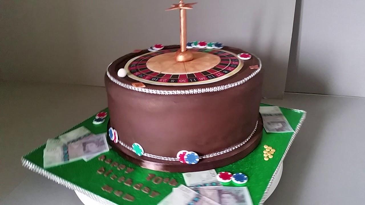 Simply Cakes By Caroline Mirfield Las Vegas Birthday Cake Youtube