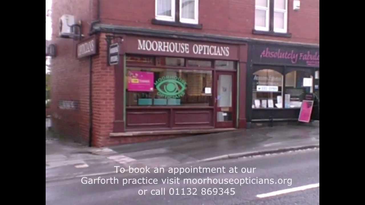 7600c73c848d Moorhouse Opticians In Garforth - YouTube