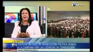 Primicia: Gloria Stella Díaz habla sobre el caso Piraquive