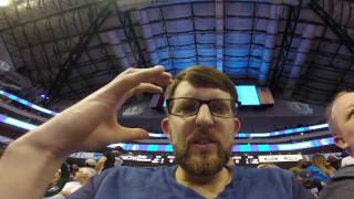 Half court shot with Dirk, Dallas Mavericks / Vlog # 7