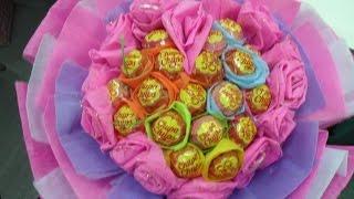 DIY - Hướng Dẫn Cách Làm Hoa Kẹo Mút Cho Ngày Valentine