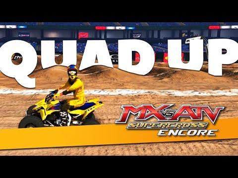 Huge Lines On The Quad! - MX vs ATV Supercross Encore!