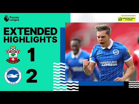Extended PL Highlights: Southampton 1 Albion 2