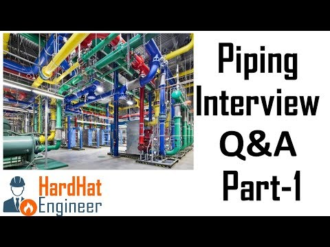 Piping Interview Questions Part-1 (Codes and Standards) -