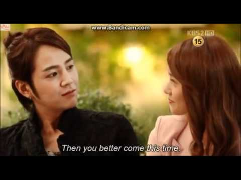 Last part of last episode of love rain!!