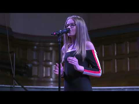 JENNIFER ROBERTSON at Dewsbury TeenStar Singing & Dance competition