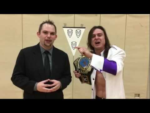 Ryan Young with TLW Champion William Jacobs