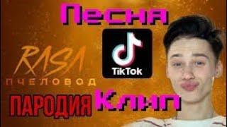 Песня про Тик ток - пародия на RASA ПЧЕЛОВОД