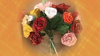 Quiling: Rosa – Artesanato na Rede