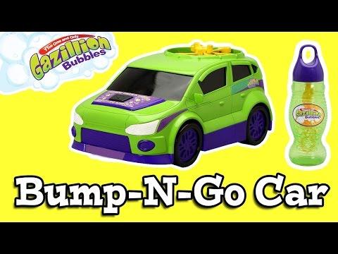 Gazilion Bubbles Bump N Go Car Bubble Machine
