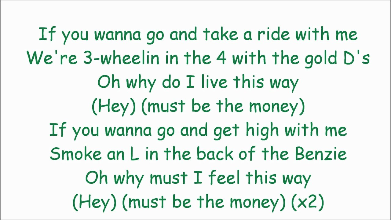 ride wit me~lyrics~ nelly - YouTube