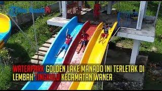 Pesona Waterpark Golden Lake Manado dari Langit