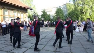 Циганський танець на весіллі. с. Подвірне