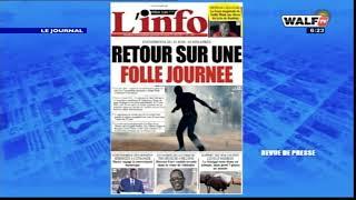 Les Gros titres de la presse lus et commentés par Fatou Diouf