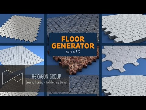 Hướng dẫn Plugin tạo sàn Floor Generator