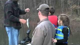 Kids Crappie Fishing Lake Lanier