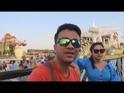 DUBAI MIRACLE GARDEN AND MALL OF THE EMIRATES VLOG