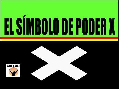 EL SÍMBOLO DE PODER X Beneficios Símbolos De Poder Atraer Buena Suerte.