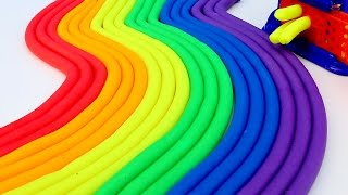 Play Doh Rainbow Modelling Clay Learn Colors Lions Play Doh Mighty Toys
