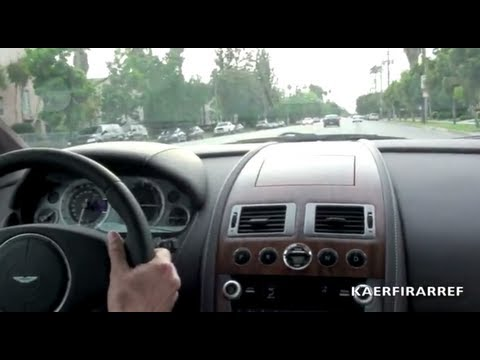 2010 Aston Martin DB9 6.0 liter V12 Test Drive