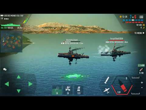 Battle of Warships 1.66.0 : USS DES MOINES (CA-134)