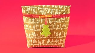 How to Wrap an Awkward Present