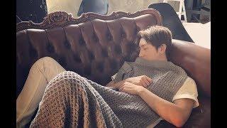 AAA かわいい!與真司郎の寝顔を集めちゃいました 動画のアクセントに真...