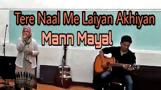 Download Hindi Video Songs - Tere Naal Main Laiyan Akhiyan (Live Performance) By Rimsha Khan and Faique Ali Raza