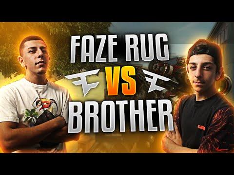 1V1 VS MY BROTHER - SNIPER VS ASSAULT RIFLE | Gaming | FaZe Rug