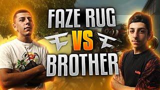 1V1 VS MY BROTHER - SNIPER VS ASSAULT RIFLE | FaZe Rug