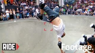 Tony Hawk, Pedro Barros, Steve Caballero and More -  Pro-Tec Pool Party 2012 Highlights
