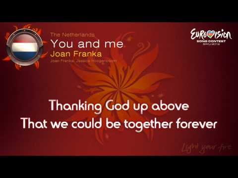 "Joan Franka - ""You And Me"" (The Netherlands) - [Karaoke version]"
