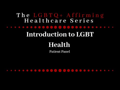 1 Lgbt Health Certificate Online Modules Youtube